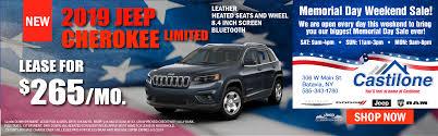 New & Used Jeep, RAM, Dodge & Chrysler Dealer Batavia | Castilone ...