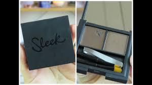 <b>Sleek Brow Kit</b>   Review & Demo! - YouTube