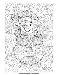 States Map With Cities Free Christmas Coloring Pages For Adults
