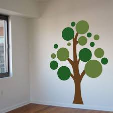 wall decals trees leaves