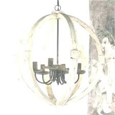 distressed white wood chandelier white wood chandelier round wood chandelier elegant white wood orb chandelier large