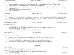Modern Dance Resume Dancer Resume Example Dance Coach Resume Examples Example Dancer