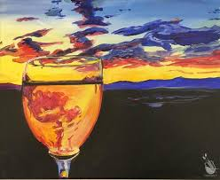 hawks shadow winery s painting with a twist event