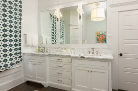 Double Vanity Ideas Transitional bathroom Colordrunk Design