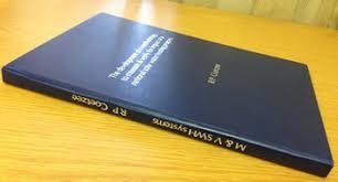Dissertation and thesis database binding De Deugd   Dekkers Bindery North West University Libraries Library NWU