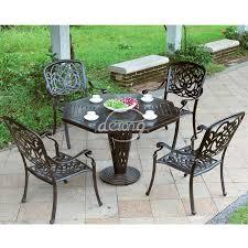 garden cast aluminum patio set manufacturer