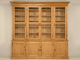 Pine Kitchen Cabinets For Antique Pine China Cabinet By British Traditions A Girl Can Dream