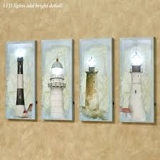lighted wall art canvas with timer panels letters