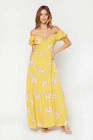 Flynn Skye Size Chart Flynn Skye Annabelle Floral Wrap Maxi Dress Imwim
