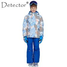 Detector <b>Boy</b> Winter Ski Suit Waterproof Windproof 5000 <b>Ski Jackets</b> ...