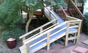 dog ramp for outdoor stairs handicap home project from the guy porch deck diy s