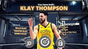 NBA 2K21 KLAY THOMPSON BUILD ...