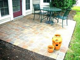 paver patio ideas deck and patio ideas off wonderful brick applied to your house decor decorating