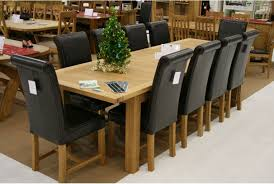 10 seater dining room table and chairs modern kitchen furniture dining table to seat 10