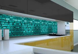 3d kitchen backsplash design ideas with glass panels