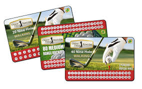 Discount Punch Card Gifts For Golfers From Crane Field And Remuda Golf Courses