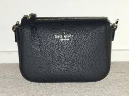 Kate Spade Daniels Drive Wendi Black Pebbled Leater Cross Body Bag - Tradesy