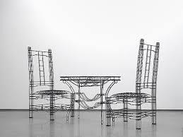 Wire furniture Iron Wire 20130307noiz14em Spoon Tamago Wire Frame Furniture By Noiz Architects Spoon Tamago