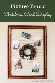 Christmas Card Display Stand DIY Picture Frame Christmas Card Display 59