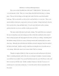 cover letter descriptive essay about a person example family gallery of an example of descriptive essay
