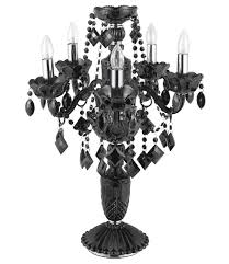 black crystal lighting. VALENTINE/BLK Black Crystal Lighting