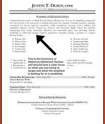 Objective In Resume Sample Inspiration Sample Resume Objective Statements Resumesampler Resume Objective