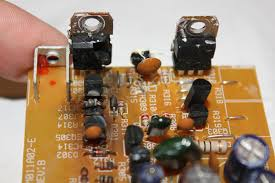 small amplifier board repair guidance and after testing here s the current failures