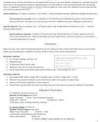 Career Objective For Teacher Resumes Career Objective Examples For Teachers Dovoz