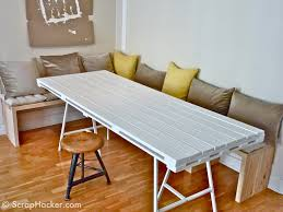 Diy Kitchen Table Pallet Kitchen Table Home Design And Decorating