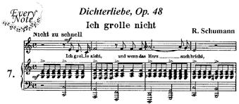 ich grolle nicht sheet music schumann 7 ich grolle nicht songs sheet music download