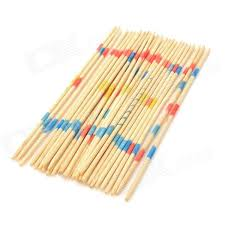 Game With Wooden Sticks Pick Up Stick Mikado Spiel Wooden Box Puzzles Intellect Game 1