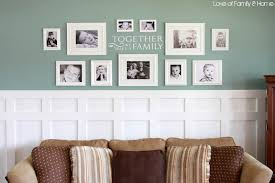 living room wall decorating ideas. captivating image of living room design and decoration using white frame wall decor in including wainscoting light green decorating ideas