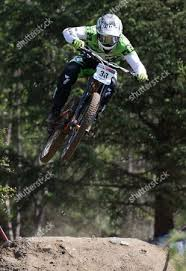 Adam Brayton GBR finishes 17th position UCI Mountain Editorial Stock Photo  - Stock Image | Shutterstock