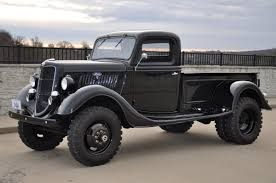 This 1935 #Ford 4x4 1-Ton #Pickup #Truck is ready for work ...