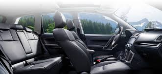 subaru forester interior. scores big on the inside subaru forester interior u