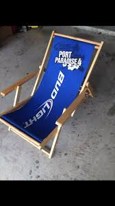 bud light beach chair