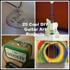 2016 diy crafts project ideas guitarartprojects