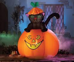 diy garden decoration ideas home designing casper cat lighted outdoor inflatable pumpkin decorations outdoor