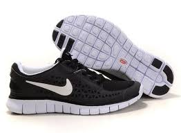 nike running shoes for girls black and white. black/white nike free run womens running shoe shoes for girls black and white