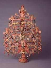 Mexican Tree of Life, Aurelio Flores, 1966 | Antique folk art, Mexican folk  art, Mexican art