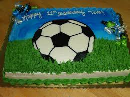How To Decorate A Soccer Ball Cake Soccer Ball Sheet Cake CakeCentral 12