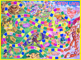 candyland board background. Simple Board Be A Traveler On This Multicolor Path And Face Many Scenarios That Force Inside Candyland Board Background E