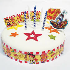 19 Piece Jake And The Never Land Pirates Party Birthday Cake