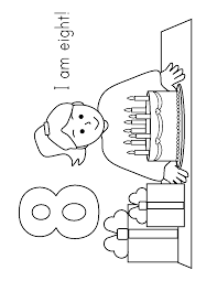 Small Picture 2 Year Old Birthday Coloring Pages Year Olds Colouring Pages
