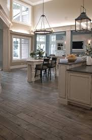 wood tile flooring in kitchen. Contemporary Wood Delightful Ideas Wood Floors In Kitchen Vs Tile Gray Hardwood  Unbelievable Grey Cabinets On Flooring