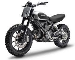 ducati scrambler becomes dirt tracker motorbike writer