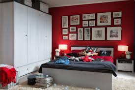 Polish Bedroom Furniture Brw Bedroom Furniture Set Polish Black Red White Modern Furniture