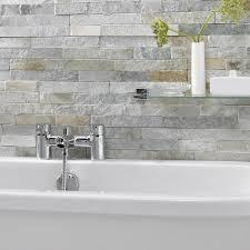 Tiles Bathroom Uk Ice White Split Face Mosaic Tiles Stonetilecompanycouk New