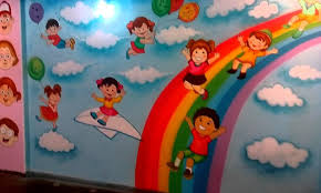 preschool playschool classroom wall theme painting mumbai india pertaining to preschool wall decoration image 17 on wall art designs for preschool with 20 best collection of preschool wall decoration wall art ideas