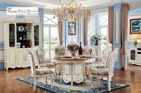 Barock Runder Esstisch Rund Tisch Runde Tische Klassischer Holz